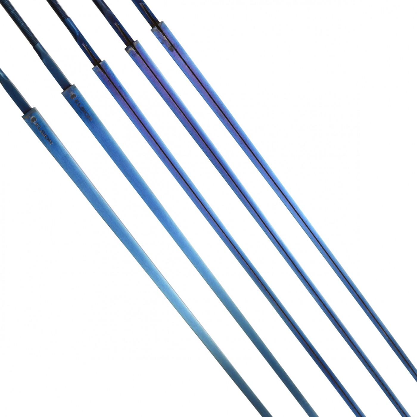 Klinga elektryczna floretowa Elsior niebieska