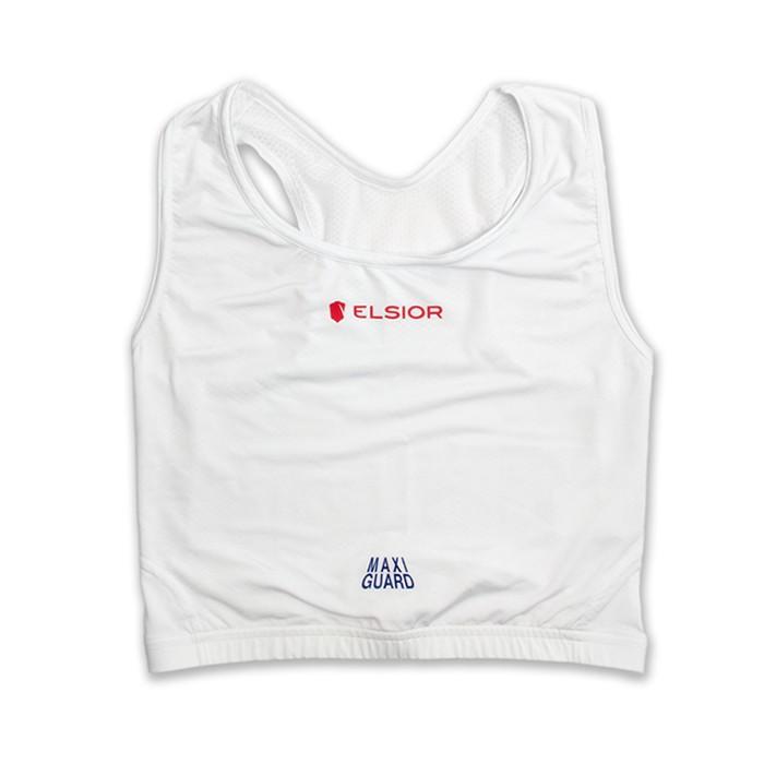 Ochraniacz na biust z koszulką białą ELSIOR